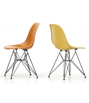 Vitra - Eames Fiberglass Side Chair DSR - Charles & Ray Emes, 1950