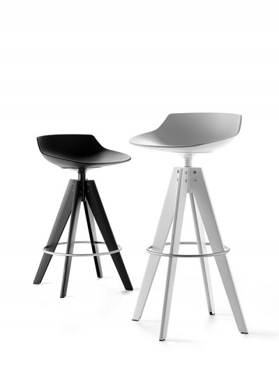 MDF Italia - FLOW STOOL - Jean Marie Massaud 2014