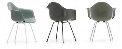Vitra - Eames Fiberglass Armchair DAX - Charles & Ray Emes, 1950
