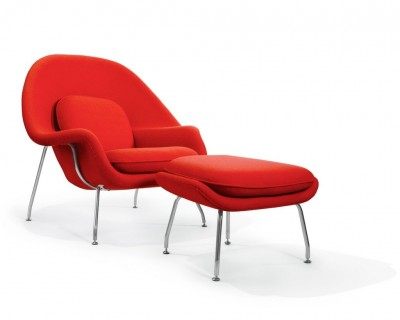 KNOLL - Womb Chair (poltrona) - Eero Saarinen 1948