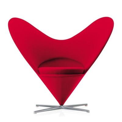 Vitra - Heart Cone Chair (sedia) - Verner Panton, 1959