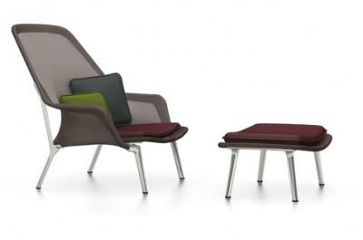 Vitra - Slow Chair & Ottoman - Ronan & Erwan Bouroullec, 2006