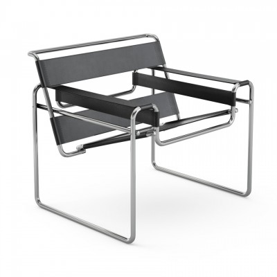 KNOLL - Wassily Chair (poltrona) - Marcel Breuer, 1925