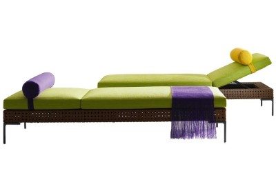 B&B Italia - CHARLES OUTDOOR (chaise longue outdoor) - Antonio Citterio 2010