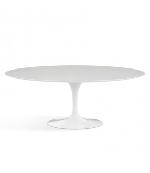 KNOLL - Saarinen Dining Oval Table (tavolo) - Eero Saarinen, 1957