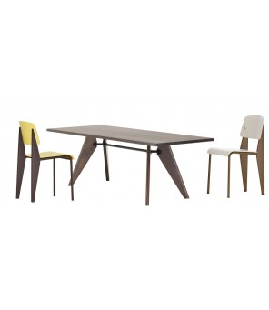 Vitra - Table Solvay (tavolo) - Jean Prouvé, 1941