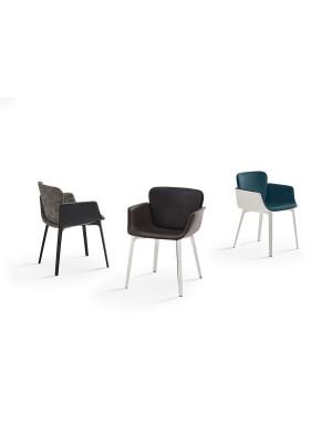 KNOLL - KN06 (sedia scocca in fiberglass o rivestita) - Piero Lissoni, 2018
