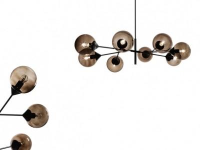 Giorgetti - Kendama (lampada a soffitto) - Massimo Zazzeron, 2018