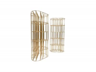 Ceccotti Collezioni - Golden Cage (libreria) - Vincenzo De Cotiis