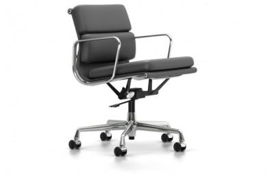 Vitra - Aluminium Chair Soft Pad EA 217 (sedia) - Charles & Ray Eames, 1958