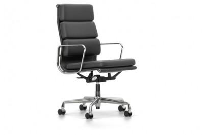 Vitra - Aluminium Chair Soft Pad EA 219 (sedia) - Charles & Ray Eames, 1958