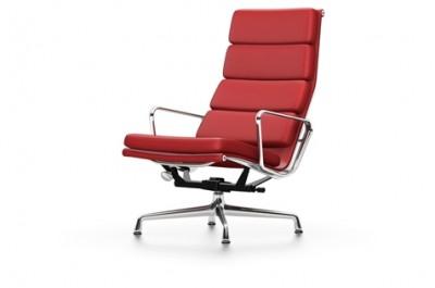 Vitra - Aluminium Chair Soft Pad Chair EA 222 (sedia) - Charles & Ray Eames, 1969