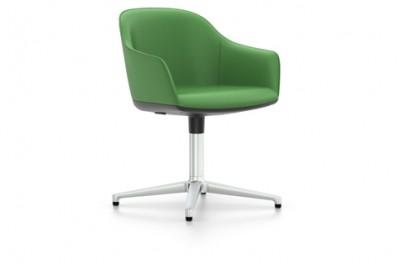 Vitra - Softshell Chair - (basamento 4 razze e 5 razze e rotelle) - Ronan & Erwan Bouroullec, 2008