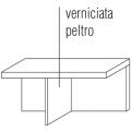 TLQ1 Tavolino rettangolare - top in legno - 505,00€
