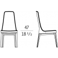 ALA-52702 - schienale alto