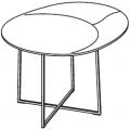 TNR2 - tavolino ø 600 H 480 - 984,00€