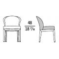 NORMAL - sedia (rivestimento esterno pelle)