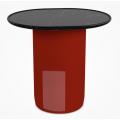 TB54 - tavolino ovale H 50 L 54 P 44 (cm)