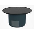 TB66 - tavolino ovale H 35 L 66 P 54 (cm)