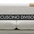 CUSCINO SEDUTA DIVISO - TRAPUNTATO - SOVRAPPREZZO - 595,00€