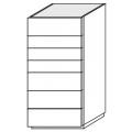cassettiera 7 cassetti L 550 P 550 H 1130 - 1.446,00€