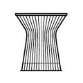 Tavolo basso Ø46