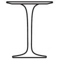 Tavolino H cm52 Ø cm41