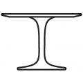 Tavolino H cm37 Ø cm51
