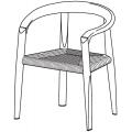 MSE3 - seduta intrecciata - 1.020,00€
