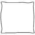 Cuscino singolo - velluto - 234,00€
