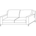 LIDO - divano L 1800 P 950 H 850