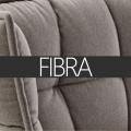 Seduta imbottita in fibra