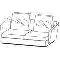 SLOANE DI192A - divano L 1920 P 1040 H 900