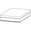 SLOANE PO13/13 - pouf L 1300 P 1300 H 400
