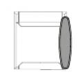 Accessorio per bracciolo/tavolino sinistro
