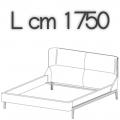 FULHAM letto FLE16A - L 1750 H 1040 P 2250