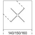 RAJ 4 LIGHT - quadrato