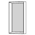 D.950.1G - cornice con specchio L 248 H 531 P 80 - 284,00€