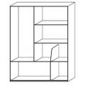 D.357.2 - libreria sospesa H cm 1305 - 3.641,00€