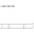 D.355.1 - libreria sospesa L cm 2400 - 2.743,00€