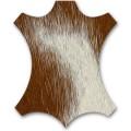 LCW Calf's Skin frassino naturale, pelo marrone/bianco