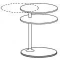 VTR1 tavolino - piani in marmo