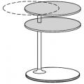 VTR2 tavolino - piani in massello