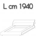 CLIP letto CM16 - L 1940 H 790 P 2530