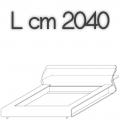 CLIP letto CM17 - L 2040 H 790 P 2530