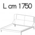 FULHAM letto FLE16B - L 1750 H 1040 P 2250