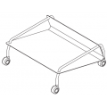 CARRELLO - max n°15 sedie impilate - 323,00€