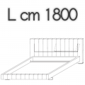 HIGH-WAVE letto HW16 - L 1800 H 1040 P 2200
