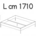 SWEETDREAMS letto SLE16 - L 1710 P 2110 H 440