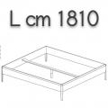 SWEETDREAMS letto SLE17 - L 1810 P 2110 H 440